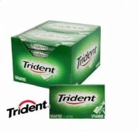 Trident sugar free spearmint chewing gum (Code 4116)